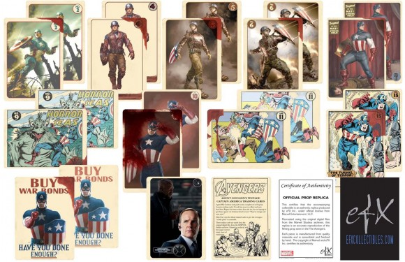 Captain America Trading Cards