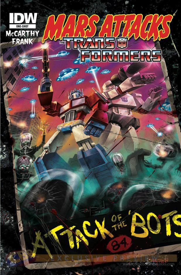 Mars Attacks ... the Transformers