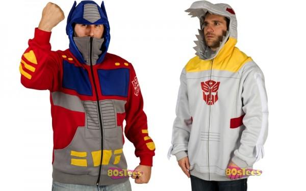 Optimus und Grimlock Hoodies