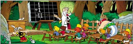 Asterix_Schule